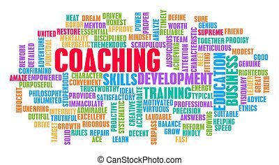 coaching, pojem, vzkaz, mračno