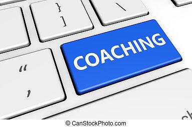 Coaching Sign Computer Key