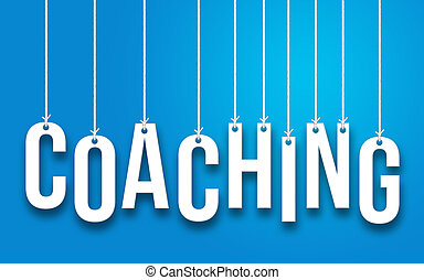 COACHING word concept