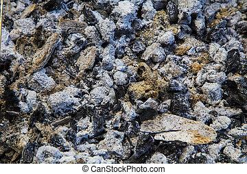 coal and ash