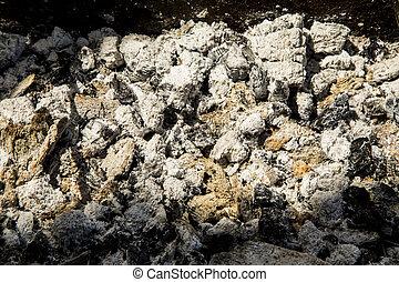 coal ashes