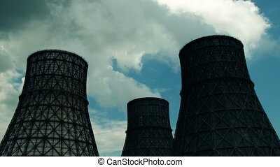 coal-burning power plant