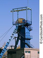 Coal mine exterior