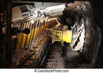Coal mine in Poland