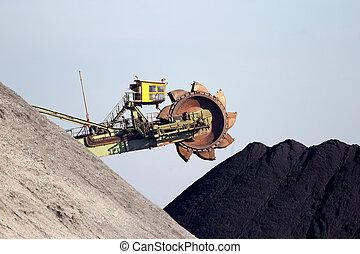 Coal mining coal machine