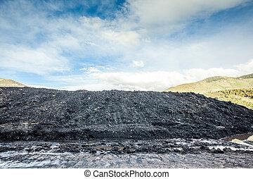 Coal pile