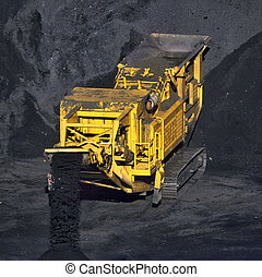 coal transportation machine