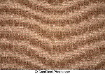 coarse brown textile texture