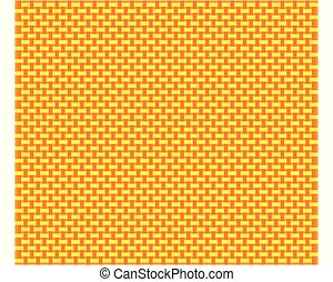 Coarse meshed cloth as background