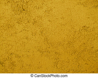 coarse mustard yellow texture background - close up of a...