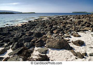 Coast at Isle of Skye, Scotland