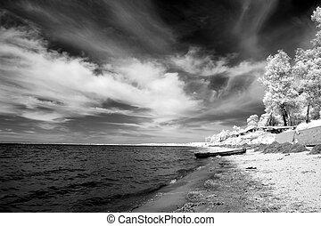 coast at Lake Baikal, Russia