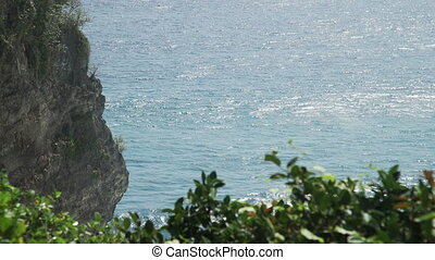 Coast at Uluwatu temple Bali, Indonesia