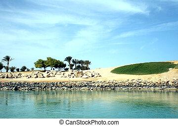 Coast golf club in El Gouna
