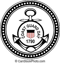 Coast Guard Day - Coast Guard's Day in the United States. ...