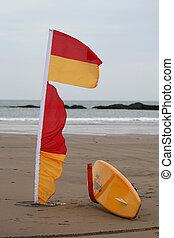 Coast Guard rescue point