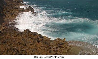 Coast in Baracoa in Cuba