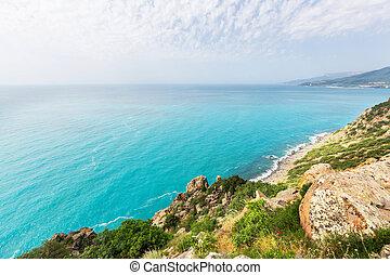 Coast in Crimea - Crimea landscapes