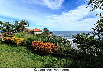 Coast near Tanah Lot, Bali. Indonesia