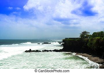 Coast near Tanah Lot.