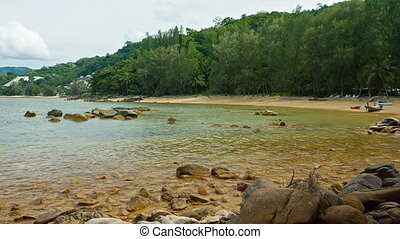 Coast of Andaman Sea on Phuket Island