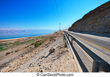 Coast of Dead Sea