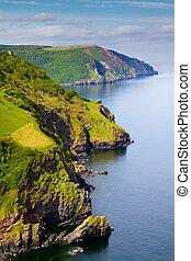 Coast of England Devon