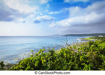 Coast of Kenting National Park, Taiwan