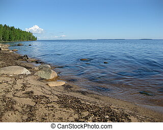 Coast of Lake Onega