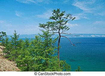 coast of Olkhon island,