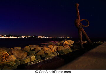St. Tropez at the night