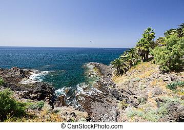 Coast of Tenerife Island Spain