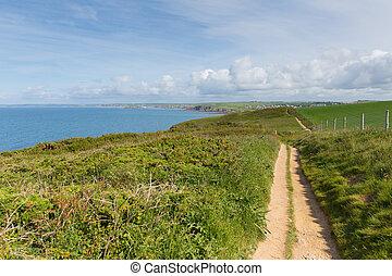 Coast path towards Thurlestone Devo