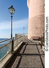 coast road to Genoa