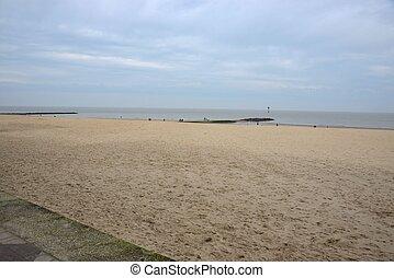 Coast - The coast in Knokke, Belgium.