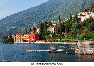 Coast Town Bellano on Como Lake