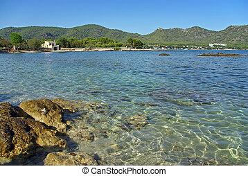 coast), vell, (majorca, porto