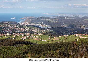 Coast villages in Asturias, Spain - San Esteban de Pravia, ...
