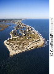 Coastal aerial.