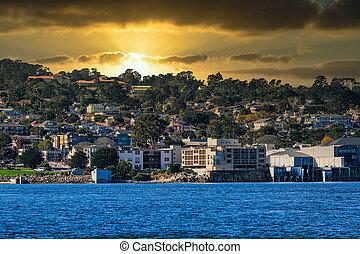 Coastal Architecture in Monterey