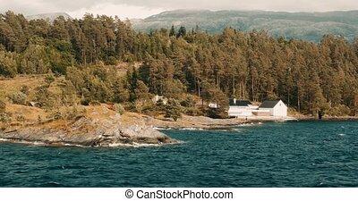 Coastal Boattrip On A Fjord, Norway - Cinematic Style