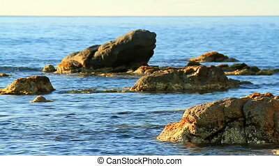Coastal - Detail of the Spanish coast (Costa Brava)