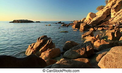 Coastal - Detail of the Spanish coastal (Costa Brava)