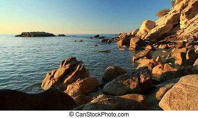 Coastal - Detail of the Spanish coastal (Costa Brava)