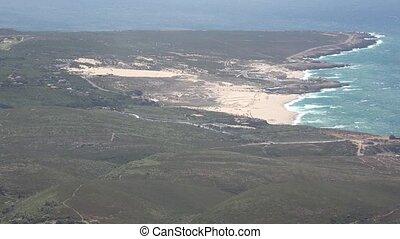 Coastal Inland Hazy Landscape