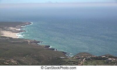 Coastal Landscape And Ocean