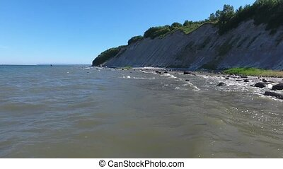 Coastal Landscape at Kap Arkona on Ruegen Island baltic Sea...