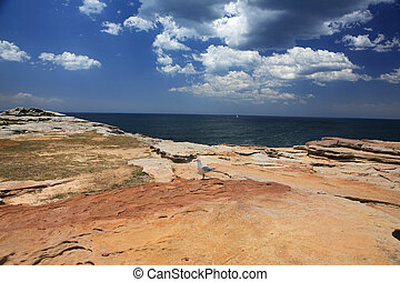 Coastal landscape east coast of Australia