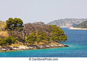 coastal landscape, Croatia