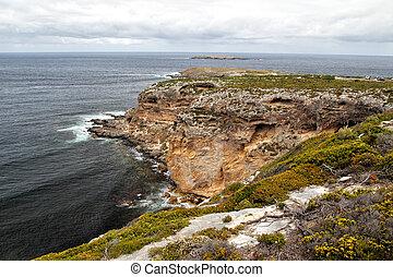 Coastal landscape on Kangaroo Island